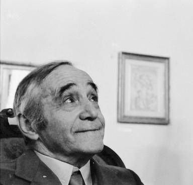 Mino Maccari (foto di Augusto Mattioli)